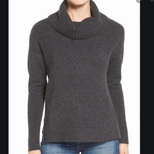 Medium Caslon Cowl Neck Sweater